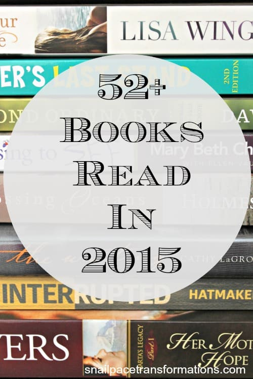 52 plus books read in 2015