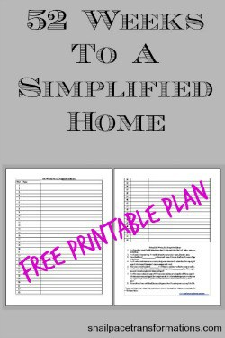 52 weeks to a simplified homefree printable plan (small)