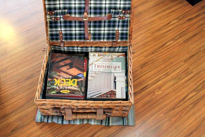 books in basket