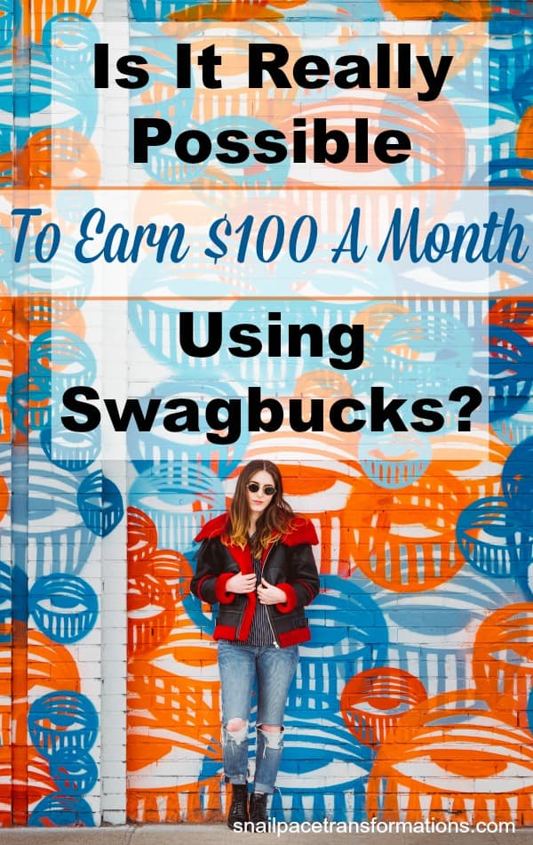 Can you earn $100 in gift cards with Swagbucks? #sidehustle #workfromhome
