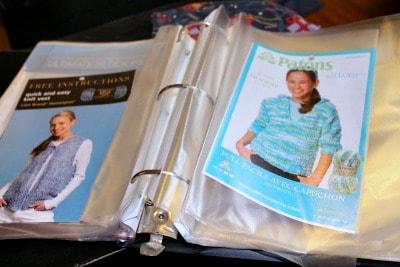 pattern binder