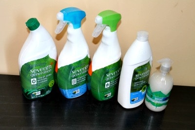 Seventh generation cleaners are a favorite of mine! --Snail Pace Transformations
