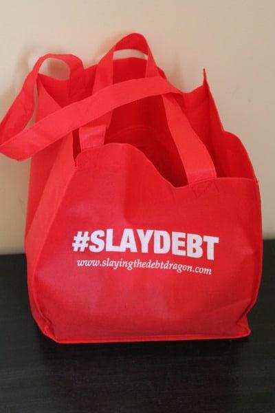 slay debt bag