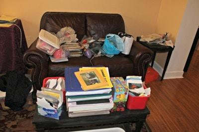 wardrobe mess