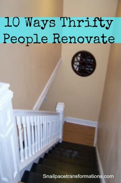 10 Ways Thrifty People Renovate(med)