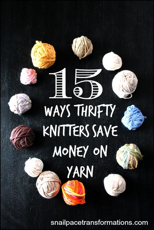 15 ways thrifty knitters save money on yarn