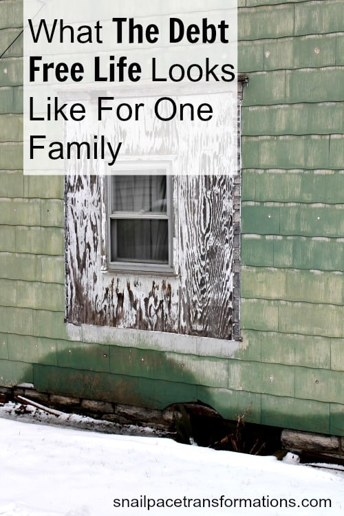 What the debt free life looks like for one family
