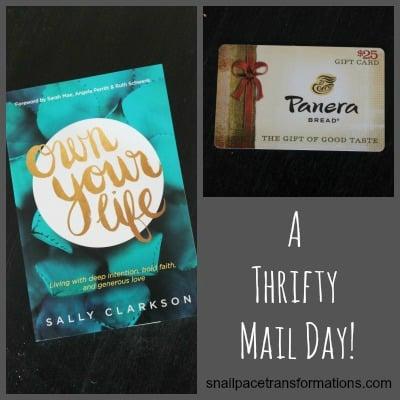a thrifty mail day mypoints & tyndale rewards