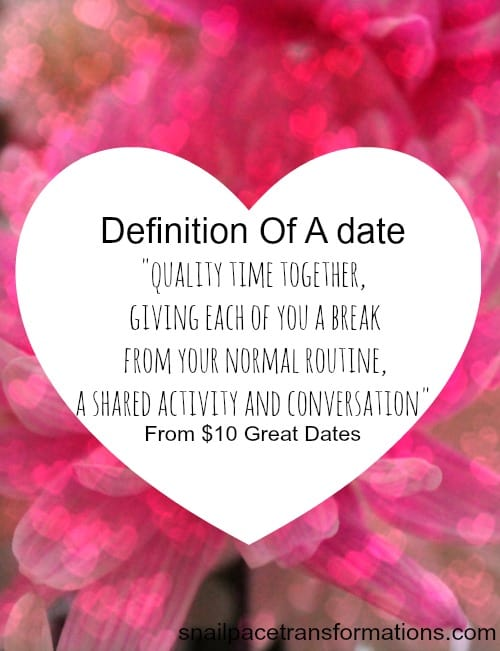 definition of a date by $10 great dates
