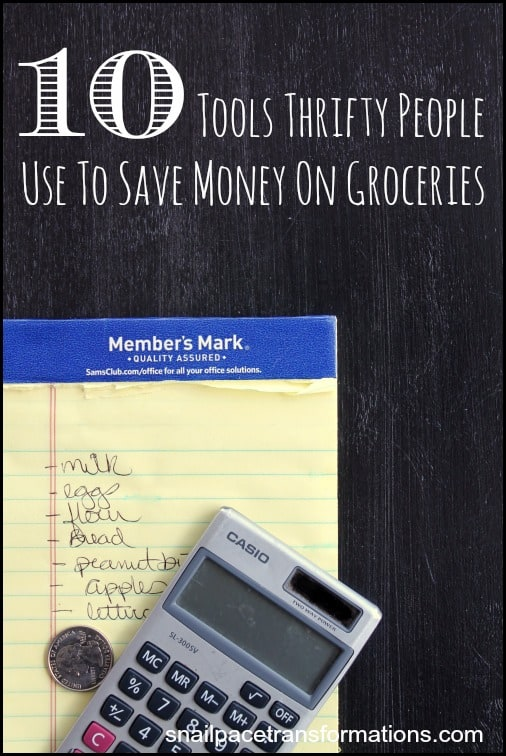 10 tools thrifty people use to save money on groceries Do you know what they are