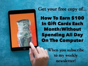 How to earn $100 in gift cards (sidebar)