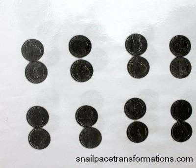 photo copied quarters