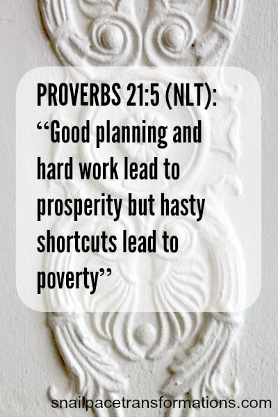proverbs 215 Good Planning & Hardwork lead to prosperity