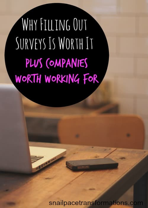 How to find survey companies that are worth your time and why filling out surveys is worth it.