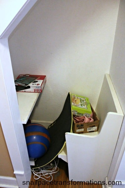 hallway cubby
