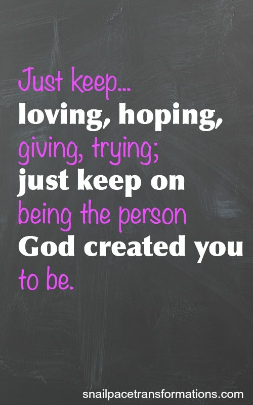 just keep quote