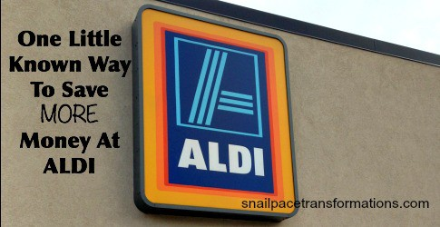 One Little Known Way to Save More Money at Aldi