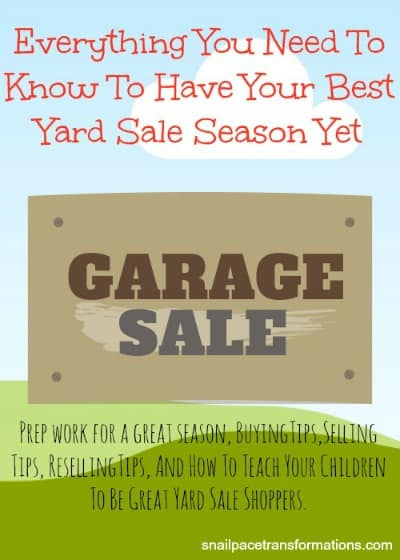 Everything you need to know to have your best yard sale (med)season yet