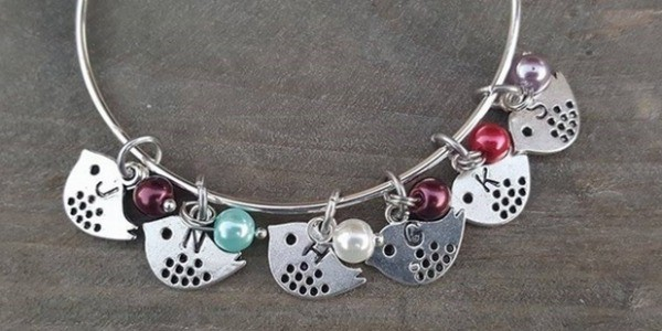 Family birdie bracelet