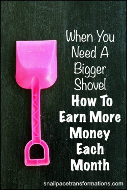 How to earn more money each month (med))