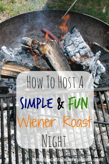 How to host a simple and fun wiener roast night (med)