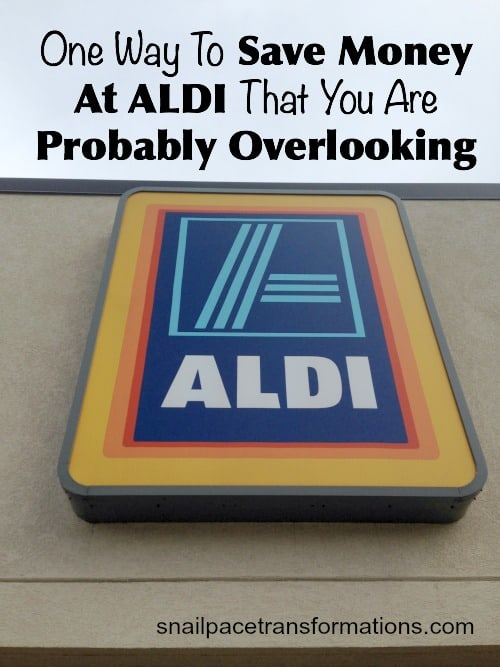 One Way To Save Money At ALDI That Is Often Over Looked