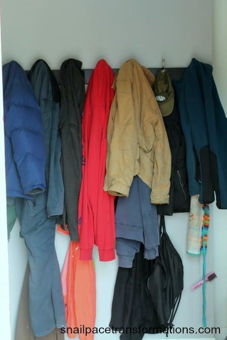 coat area before