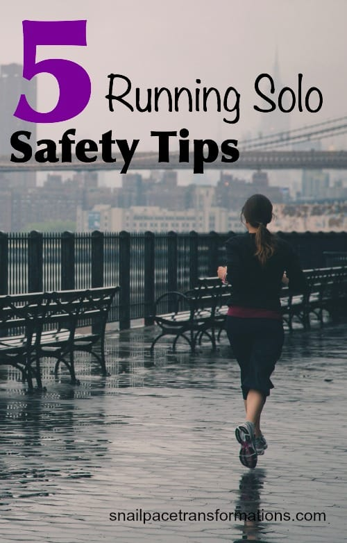 5 running solo saftey tips