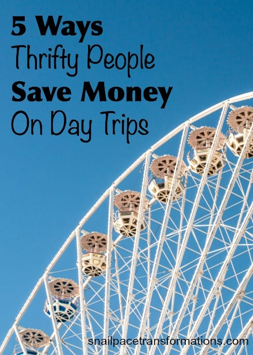 5 ways thrifty people save money on day trips