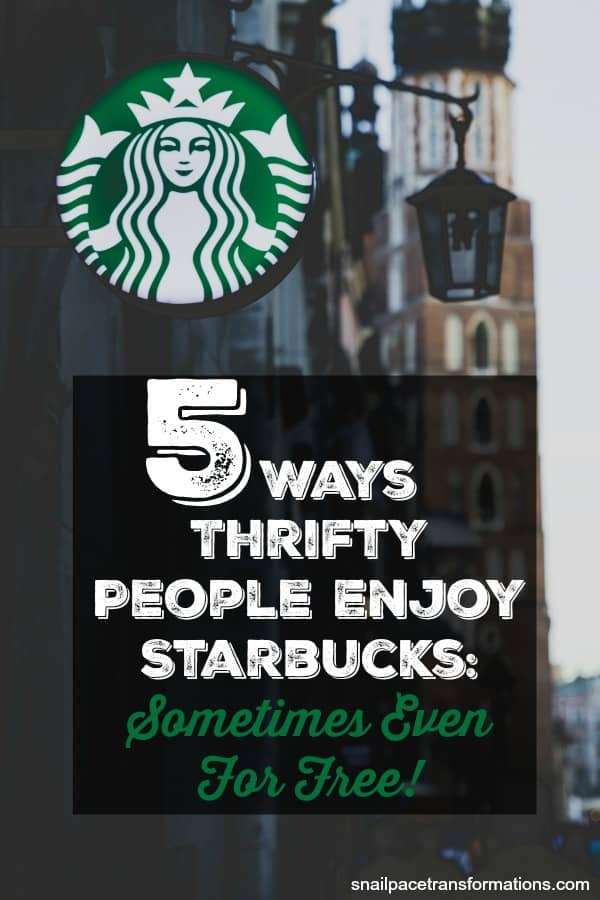 How to save money on Starbucks: #starbucks #frugal #savemoney