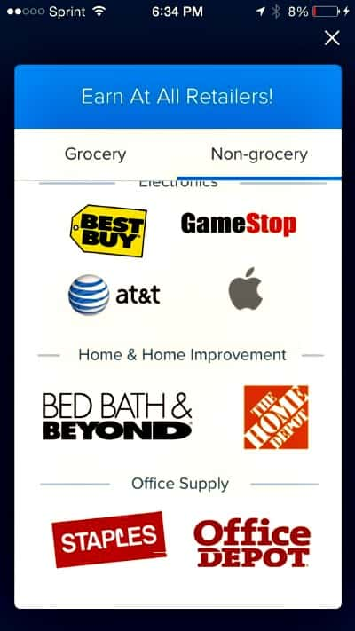 Earn gift cards with Reciept Hog from these store and more. So simple