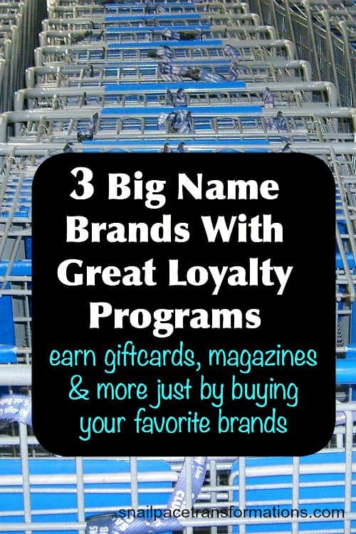 3 name brands that reward you for buying their products