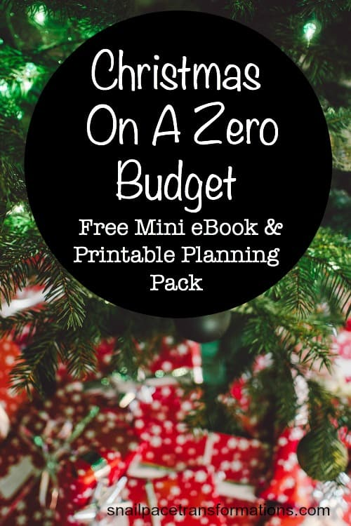 Christmas On A Zero Budget : Free E-Book & Printable Pack