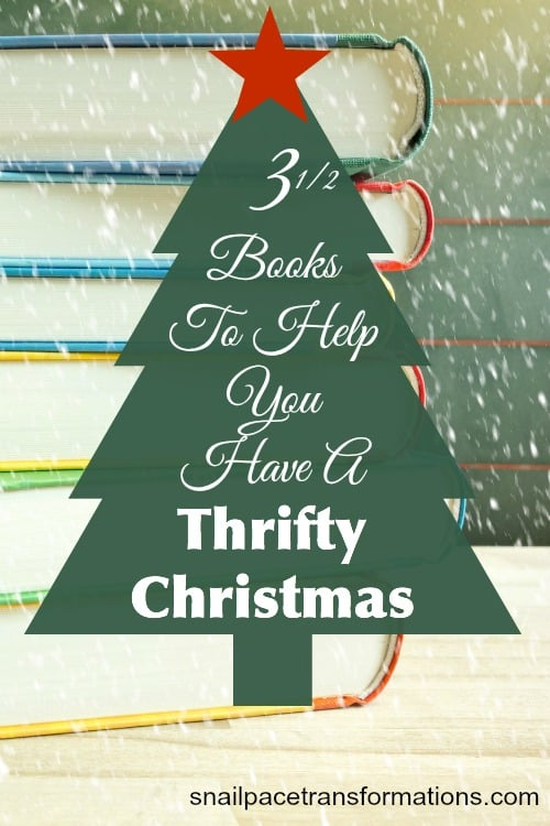 3 1/2 books to help you have a thrifty Christmas
