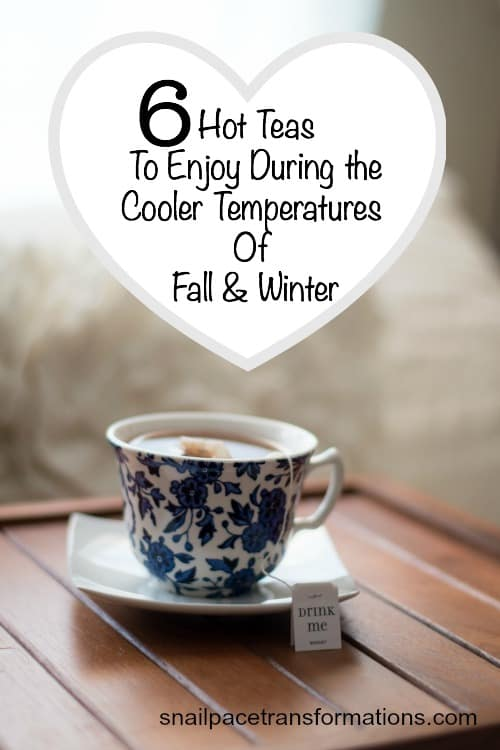 6 hot teas to enjoy during the cooler temperatures of Fall & Winter