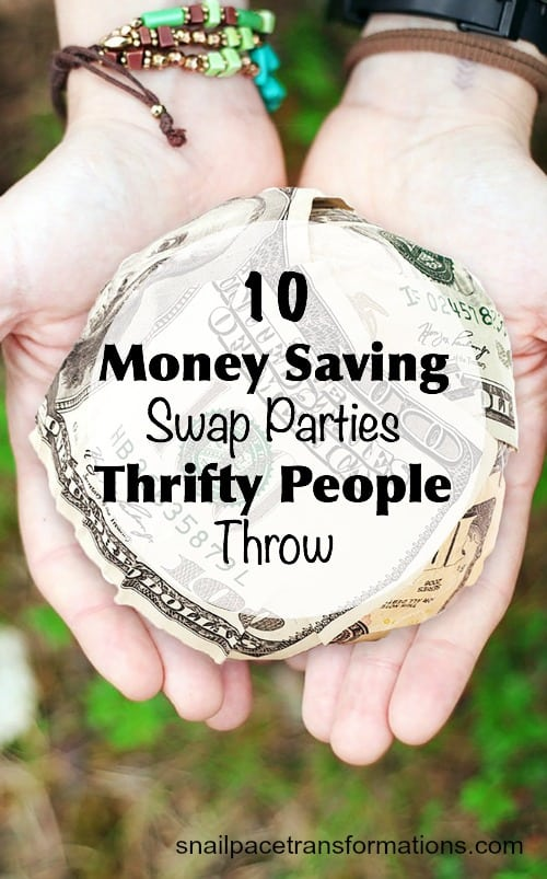 Save money on clothing, books, home decor and more by hosting a swap party with friends.