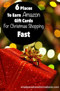 6 Places To Earn Amazon Gift Cards Fast