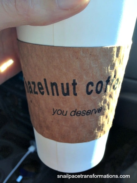 Date day begins with Hazelnut Coffee