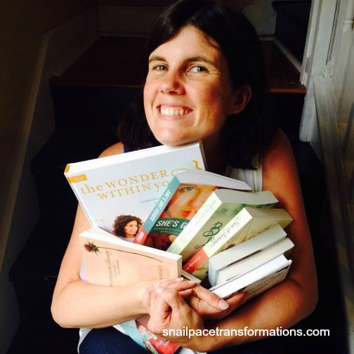 me with my books from tyndale rewards