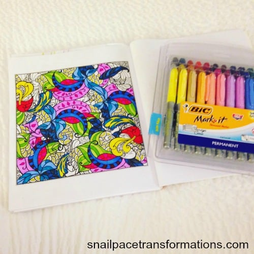 How to save money on adult coloring books and supplies.