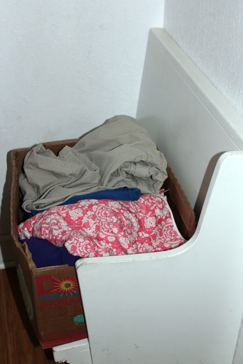 clothes to toss