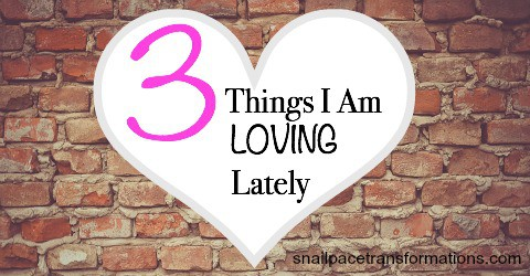 3 Things I Am Loving Lately What about you
