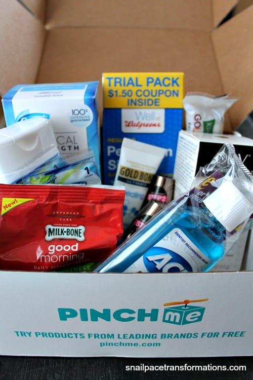 PINCHme box of goodies.