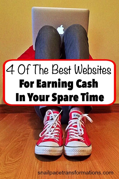 4 of the best websites for earning cash in your spare time! There are people earning $100 a month or more with these sites--all from the comfort of their own home.