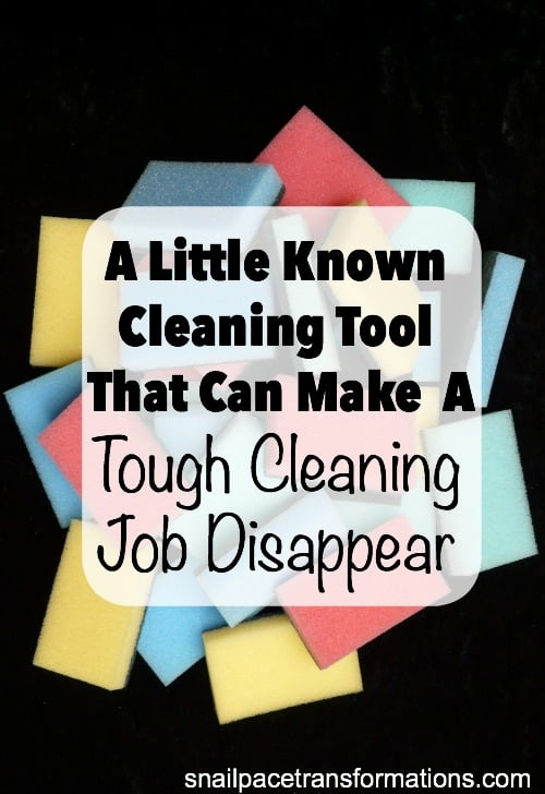 A little know cleaning tool that can make a tough cleaning job disappear.
