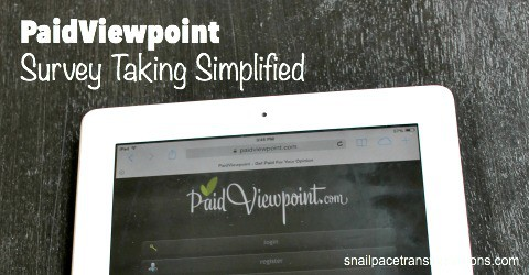 PaidViewpoint Survey Taking Simplified