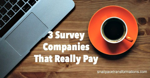3 Survey Companies That Really Pay