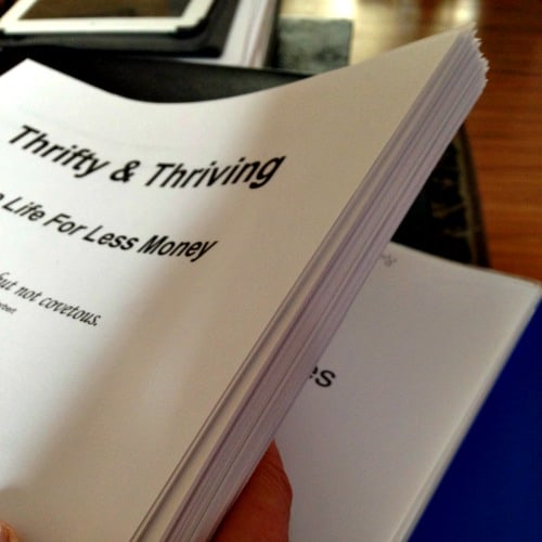 thrifty and thriving eBook