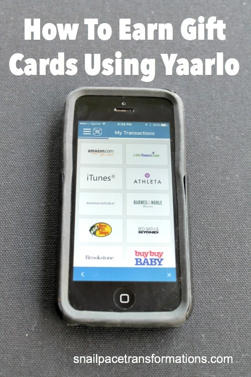 How to earn gift cards using Yaarlo--it is so simple!
