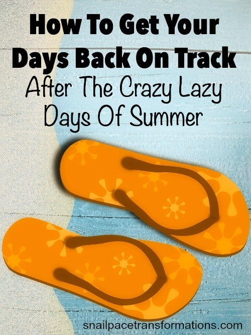 How to get your days back on track after the crazy lazy days of summer. Press the reset button on your productivity with these tips.